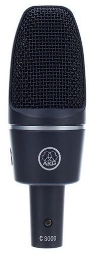 Микрофон с большой мембраной для студии AKG C3000