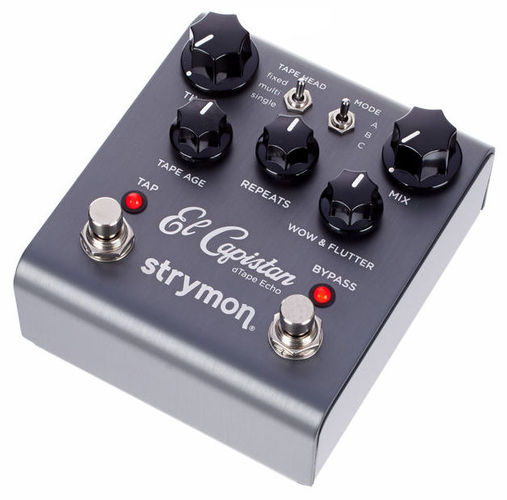 Педаль Reverb/Hall Strymon El Capistan педаль reverb delay strymon big sky