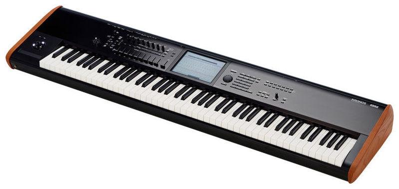 Рабочая станция Korg KRONOS2-88 синтезатор korg kronos2 73