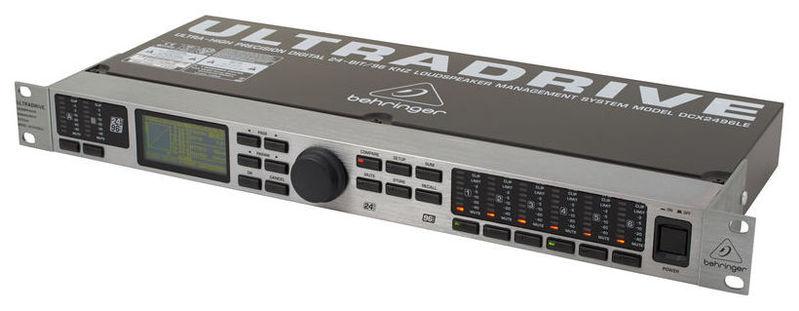 Кроссовер для звука Behringer DCX2496LE Ultradrive Pro behringer x32 compact