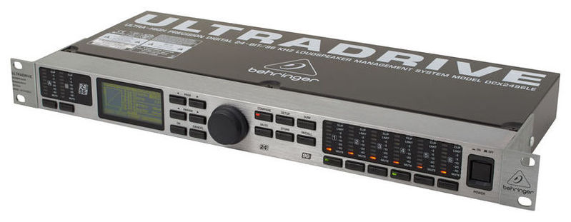 Кроссовер для звука Behringer DCX2496LE Ultradrive Pro behringer x1622usb