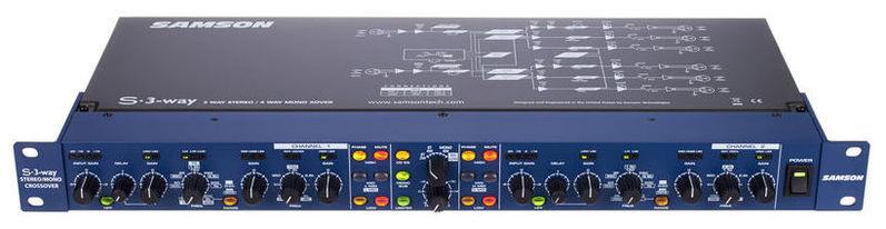 Кроссовер для звука Samson S-3 Way samson rh600