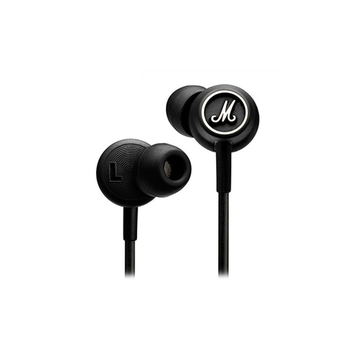 Вкладные наушники MARSHALL Mode Headphones BLACK & WHITE цена и фото