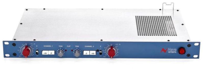 Микрофонный предусилитель AMS Neve 1073 DPA Preamp Stereo трансформаторы