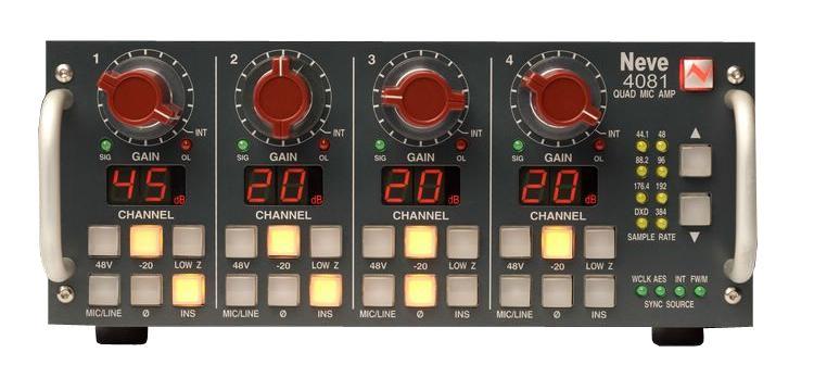 Микрофонный предусилитель AMS Neve 4081 QuadMic Preamp ключ для управления сетевым элементом alcatel lucent ams с по 109659169