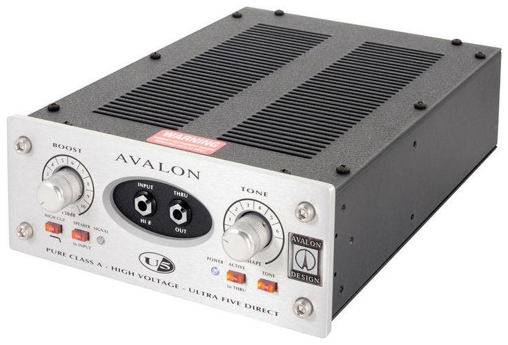Инструментальный предусилитель Avalon Design U5 цена