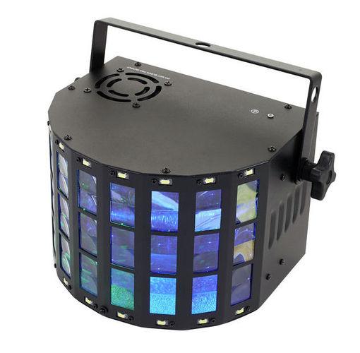 Многолучевой прибор EUROLITE LED Mini D-20 Hybrid Effect генератор дыма eurolite dynamic fog 600