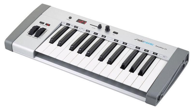 MIDI-клавиатура 25 клавиш Swissonic EasyKey 25 цена