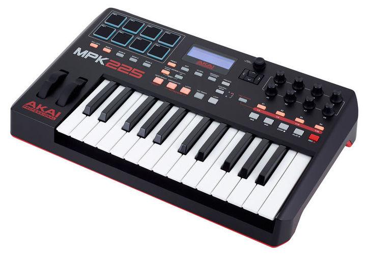 цена на MIDI-клавиатура 25 клавиш AKAI MPK225