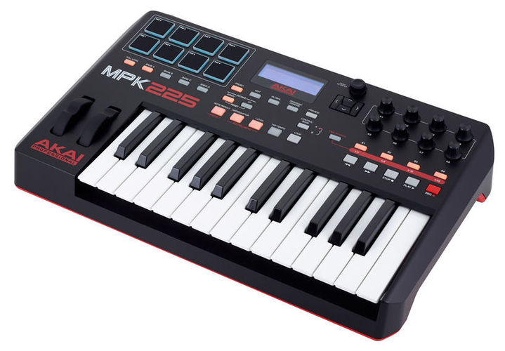 MIDI-клавиатура 25 клавиш AKAI MPK225 цена