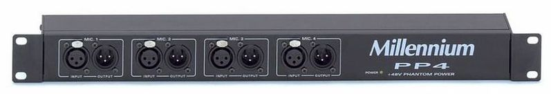 Питание для микрофона Millenium PP4 рама millenium pdr 5004 prof drum rack