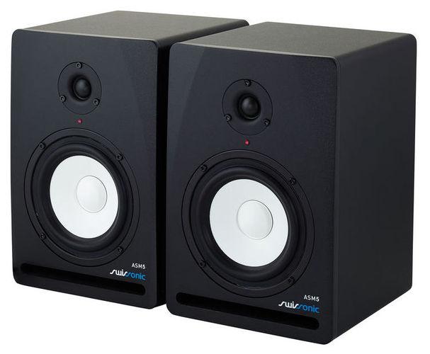 Активный студийный монитор Swissonic ASM5 монитор aoc 21 5 g2260vwq6 g2260vwq6