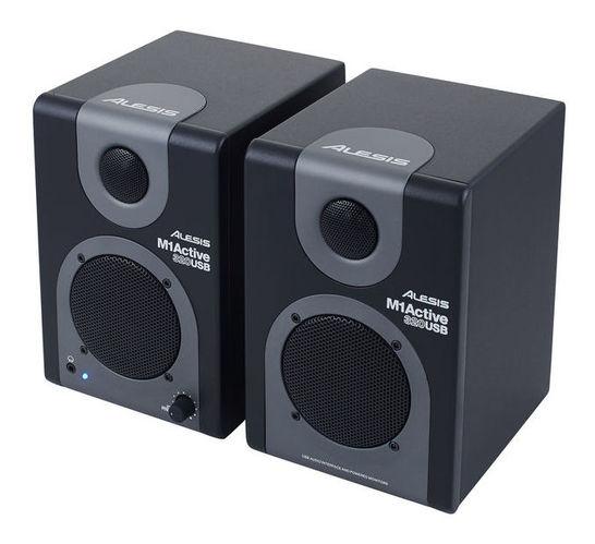 Активный студийный монитор Alesis M1 ACTIVE 320USB перкуссия и пэд alesis percpad