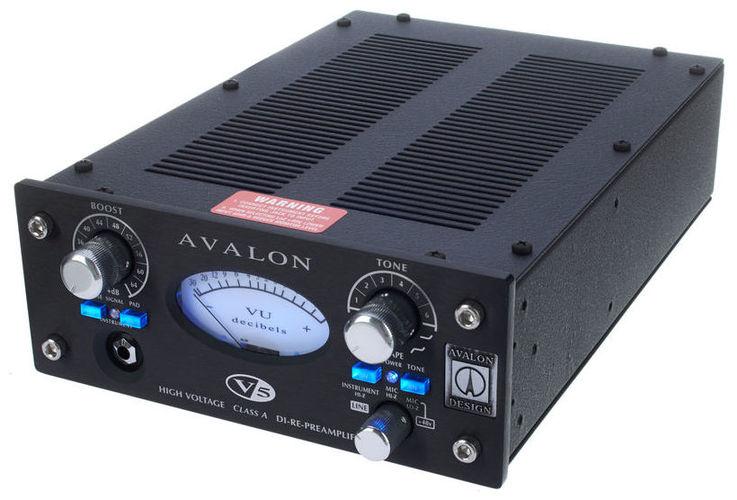 где купить Микрофонный предусилитель Avalon Design V5 Black дешево