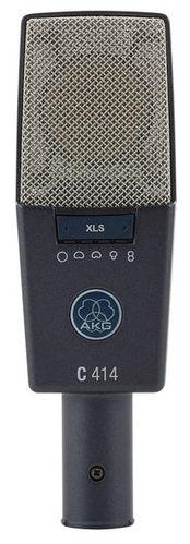 Микрофон с большой мембраной для студии AKG C414 XLS микрофон для ударных инструментов akg c518m