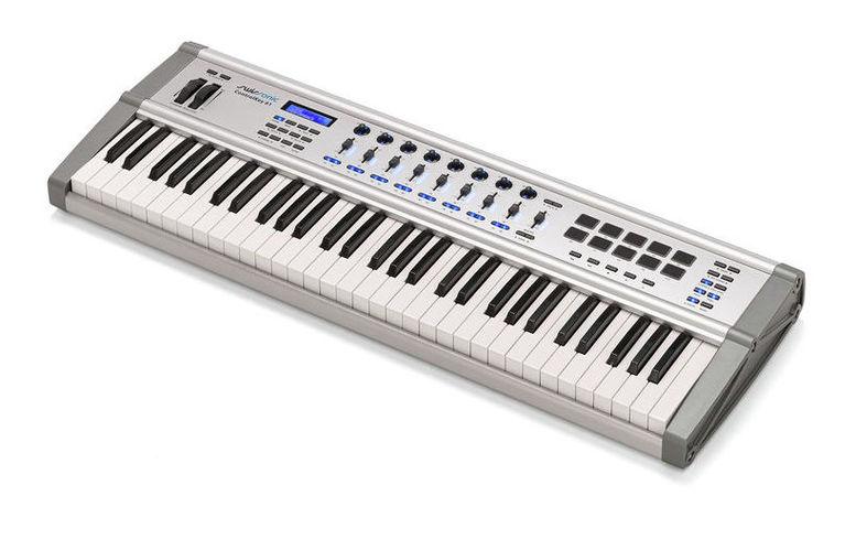 MIDI-клавиатура 61 клавиша Swissonic ControlKey 61 midi клавиатура 61 клавиша miditech i2 61 black edition