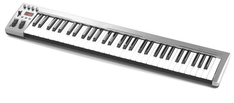 MIDI-клавиатура 61 клавиша Acorn Masterkey 61 midi клавиатура 61 клавиша miditech i2 61 black edition