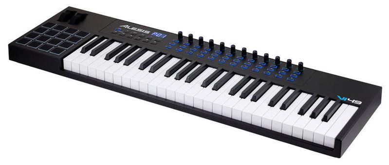 MIDI-клавиатура 49 клавиш Alesis VI49 midi клавиатура 25 клавиш alesis q25