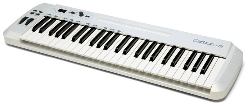 MIDI-клавиатура 49 клавиш Samson Carbon 49 midi dj контроллер samson graphite md13