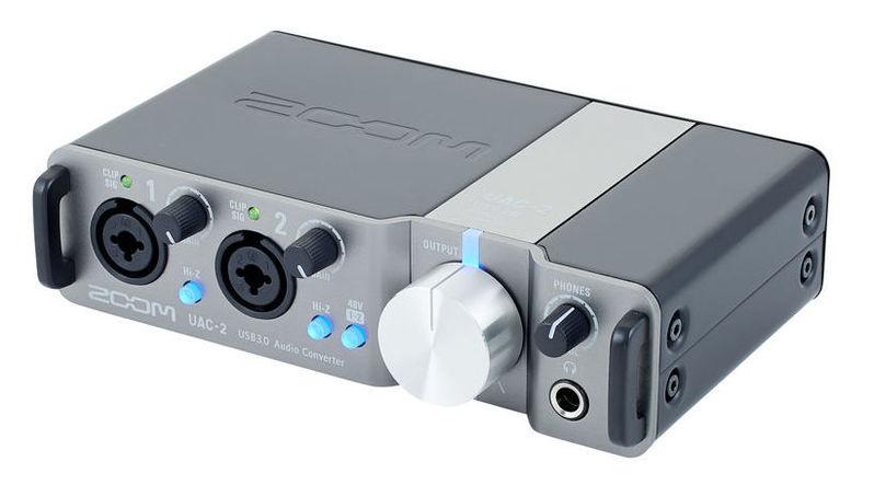 все цены на Звуковая карта внешняя Zoom UAC-2 онлайн