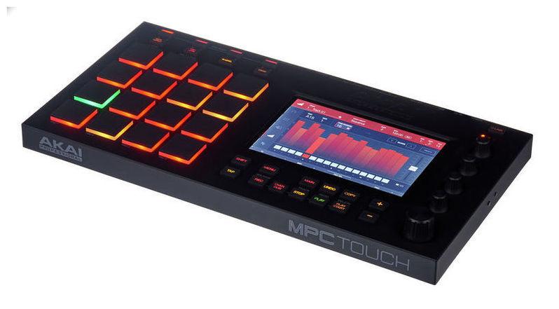MIDI, Dj контроллер AKAI MPC Touch midi контроллер alesis sample pad