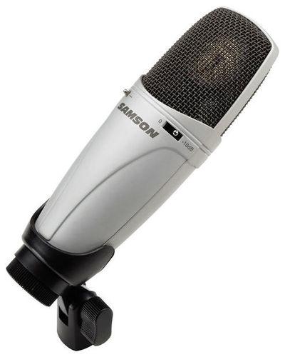 Микрофон с большой мембраной для студии Samson CL-7 samson samson метеорит сферическая мини usb записи настольный конденсаторный микрофон настольного компьютера оборудование серебро