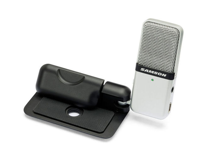 USB микрофон Samson Go Mic USB samson samson живите go mic прямой usb клип на конденсаторный микрофон запись конференции игра мобильные компьютеры пшеницы серебро