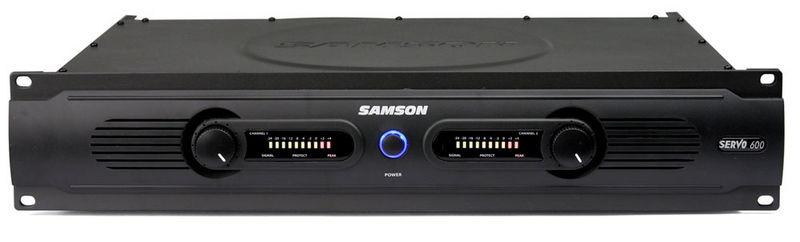 Усилитель мощности до 300 Вт (4 Ом) Samson Servo 600 samson rh600