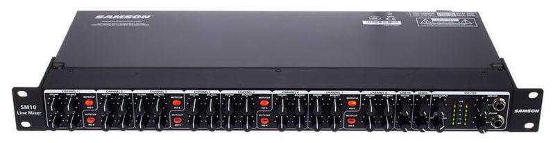 Рэковый микшер Samson SM10 рэковый микшер behringer eurorack pro rx1202fx