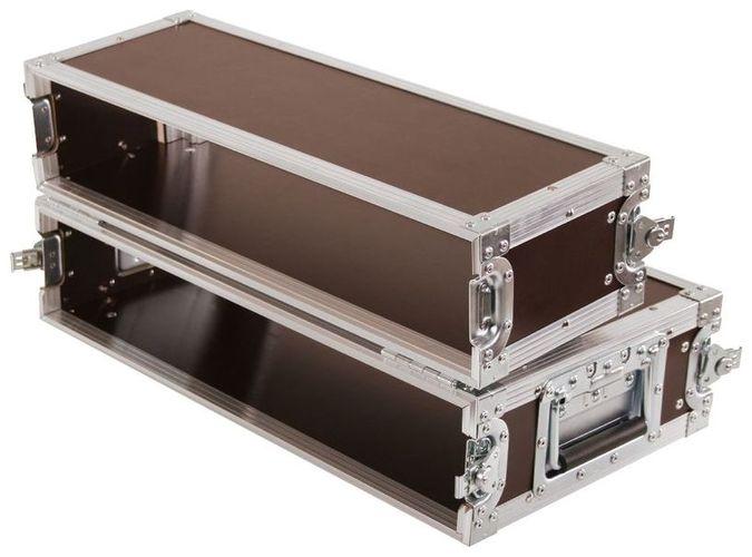 Рэковый шкаф и кейс Thon Dual CD Player Case 2U кейс для диджейского оборудования thon dj cd custom case dock