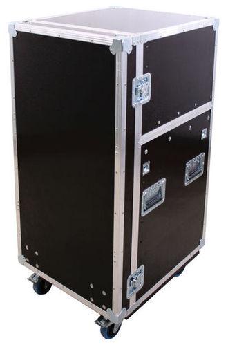 Рэковый шкаф и кейс Thon DJ-Live Rack 16U кейс для диджейского оборудования thon dj cd custom case dock