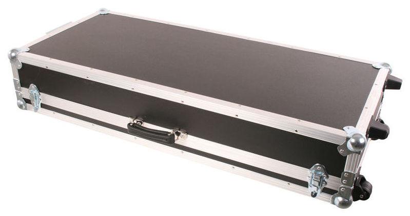 Кейс для клавишных инструментов Thon Keyboard Case 1 PVC 2 Wheels кейс для диджейского оборудования thon dj cd custom case dock
