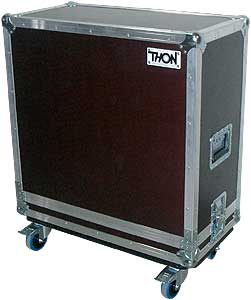 Кейс для гитарных эффектов и кабинетов Thon Case for 4x12 Cab кейс для гитарных эффектов и кабинетов thon custom pedal case