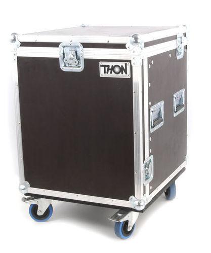 Рэковый шкаф и кейс Thon L-Rack 10U Wheels кейс для диджейского оборудования thon dj cd custom case dock