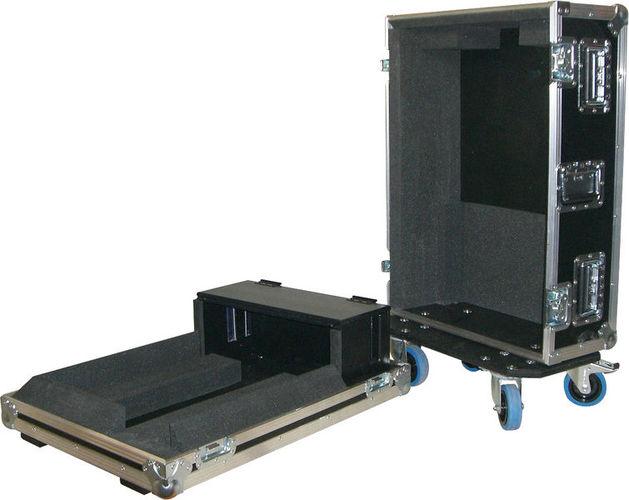 Кейс для микшерных пультов Thon Roadcase Yamaha LS9-16 BK кейс для диджейского оборудования thon dj cd custom case dock