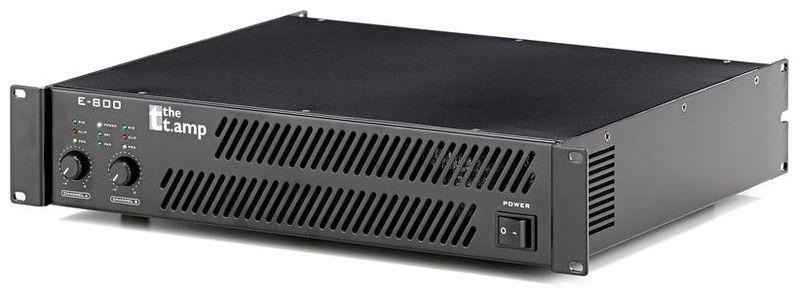 Усилитель мощности до 800 Вт (4 Ом) the t.amp E-800 усилитель мощности 850 2000 вт 4 ом the t amp ta 2400 mk x