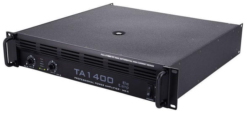 Усилитель мощности до 800 Вт (4 Ом) the t.amp TA 1400 MK-X усилитель мощности 850 2000 вт 4 ом the t amp proline 3000