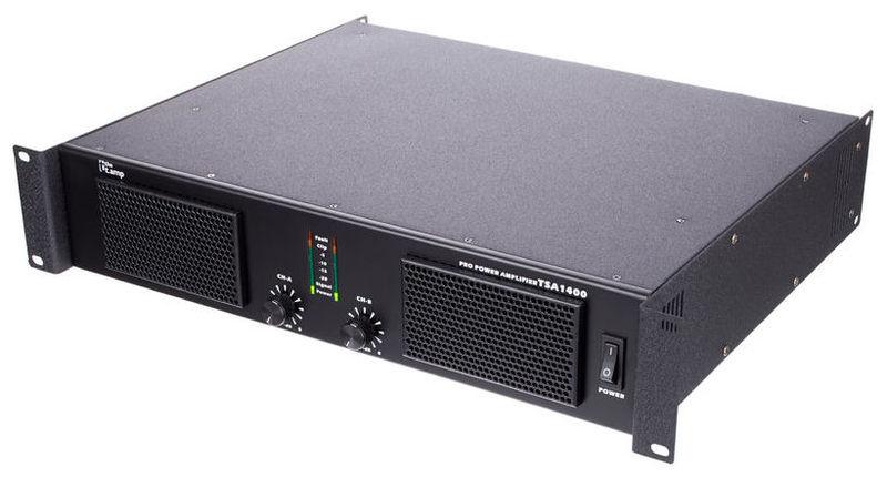 Усилитель мощности до 800 Вт (4 Ом) the t.amp TSA 1400 усилитель мощности до 800 вт 4 ом crown xls 1002