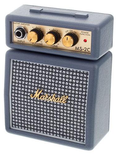 Гитарный усилитель MARSHALL MS-2C гитарный мини усилитель marshall гитарный мини комбоусилитель ms 2