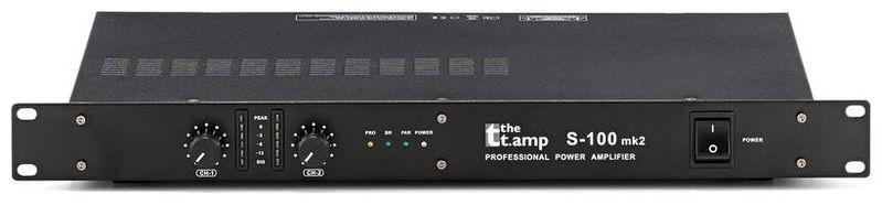Усилитель мощности до 300 Вт (4 Ом) the t.amp S-100 MK II усилитель мощности до 800 вт 4 ом crown xls 1002