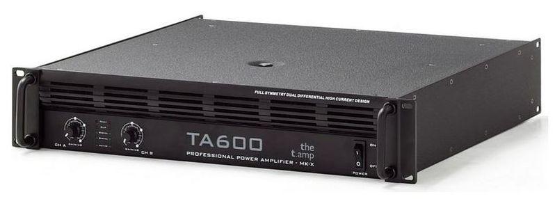Усилитель мощности до 300 Вт (4 Ом) the t.amp TA 600 MK-X усилитель мощности до 800 вт 4 ом crown xls 1002
