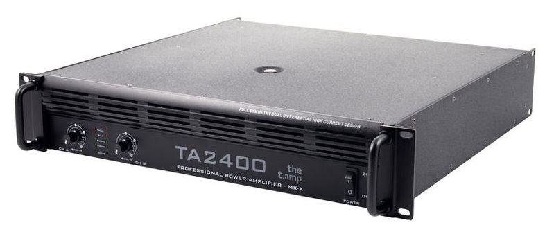 Усилитель мощности 850 - 2000 Вт (4 Ом) the t.amp TA 2400 MK-X усилитель мощности 850 2000 вт 4 ом electro voice q1212