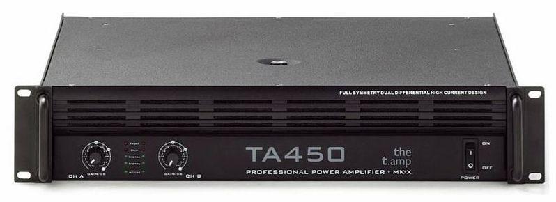 Усилитель мощности до 300 Вт (4 Ом) the t.amp TA 450 MK-X усилитель мощности 850 2000 вт 4 ом the t amp proline 3000
