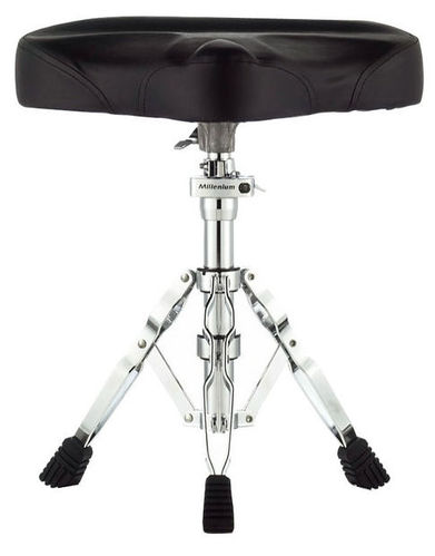 Стул для ударных инструментов Millenium MDT3 Drum Throne Saddle рама millenium pdr 5004 prof drum rack