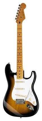 Стратокастер Fender Squier Classic Vibe Strat 50's fender classic 50s strat blk w gig
