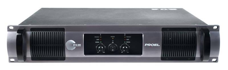 Усилитель мощности 850 - 2000 Вт (4 Ом) PROEL HPD1000 усилитель мощности 850 2000 вт 4 ом electro voice q1212
