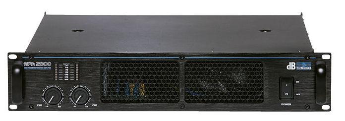 Усилитель мощности 850 - 2000 Вт (4 Ом) dB Technologies HPA 2800 усилитель мощности 850 2000 вт 4 ом the t amp proline 3000