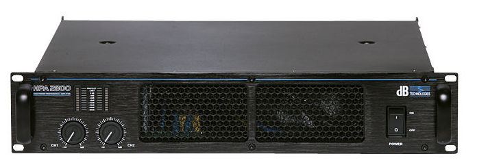 Усилитель мощности 850 - 2000 Вт (4 Ом) dB Technologies HPA 2800 профессиональный усилитель мощности apart champ 4