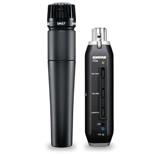 Универсальный инструментальный микрофон Shure SM57-X2U стерео микрофон shure vp88