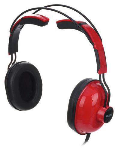 Наушники закрытого типа Superlux HD-651 Red наушники закрытого типа ultrasone edition 8 carbon